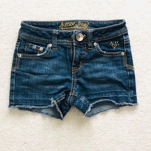 Justice Jean Shorts Size 8S